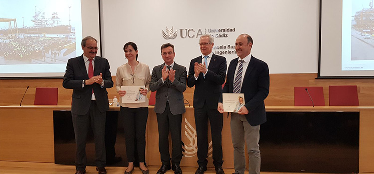 La Universidad de Cádiz entrega los I Premios Mariano Marcos Bárcena a la Transferencia e Innovación